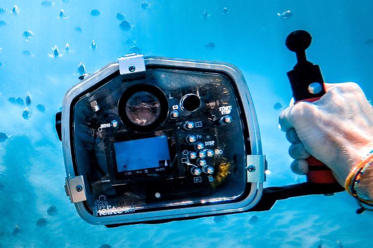 Matériel de photo pour la plongée sous-marine